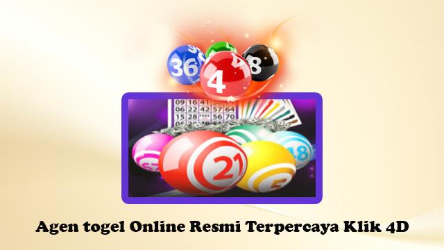 Agen Togel Online Resmi Terpercaya Klik4D
